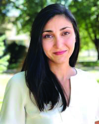 Professor Emily Masghati was recently hired as UNIs new African American studies professor.