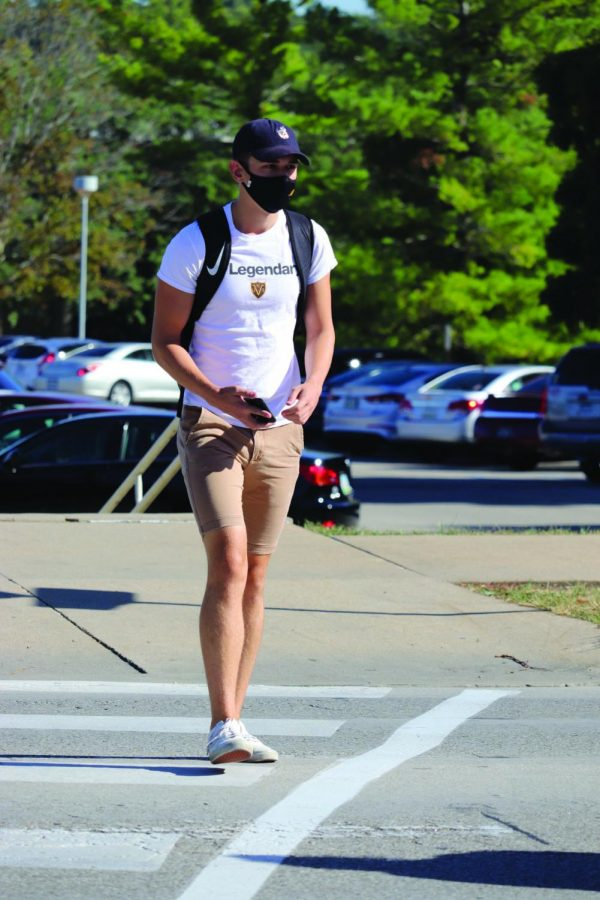 Despite the transition to semi-normalcy, students on UNI's campus still maintain the practice of wearing masks on campus.