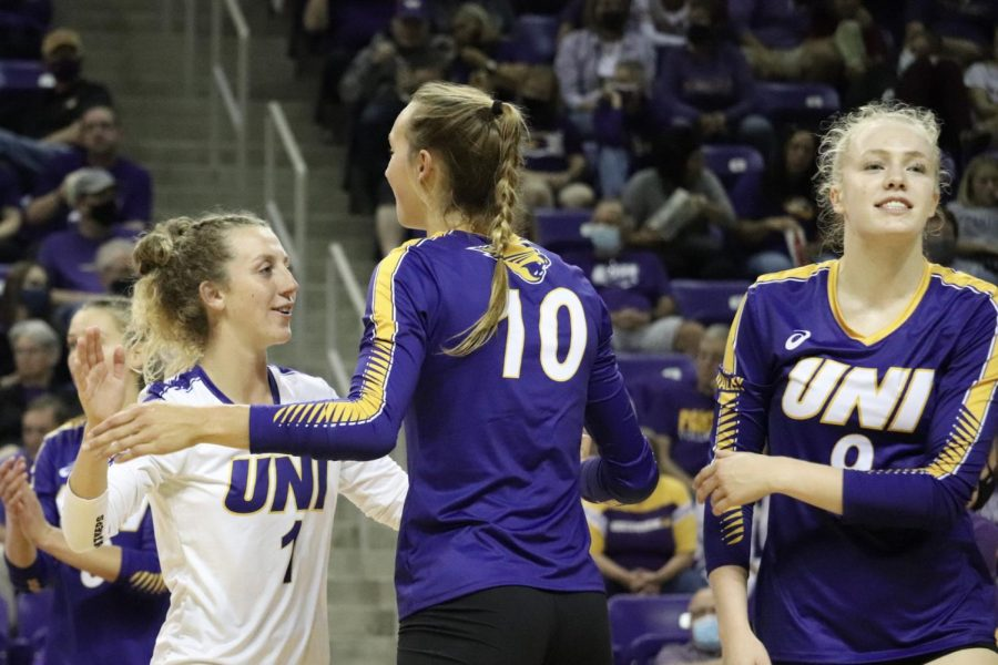 The UNI volleyball team lost their first conference road game against Loyola in four sets. They will travel to Missouri State for their next match on Friday.