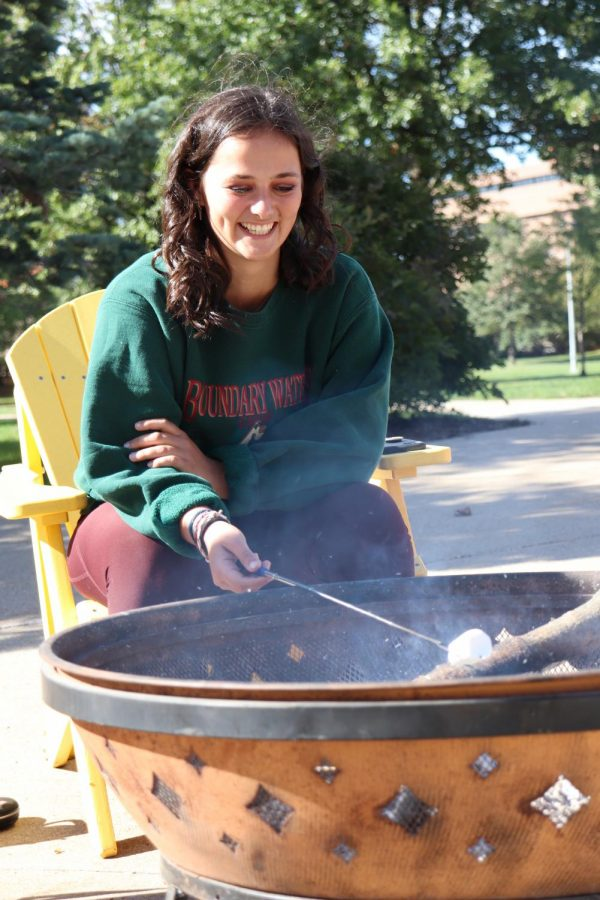 UNI Outdoors hosts Camping on campus