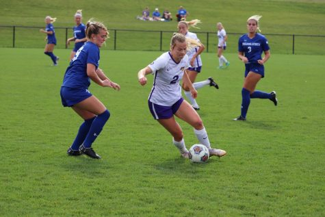 The Panthers scored the first goal in their match against Indiana State last Sunday, but were unable to keep the momentum going as they fell by the score of 3-1.