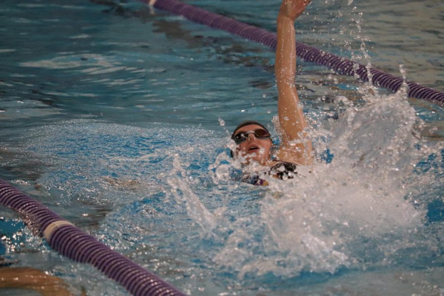 The UNI Swimming and Diving team lost to Iowa State last Saturday, but several individuals had outstanding performances.