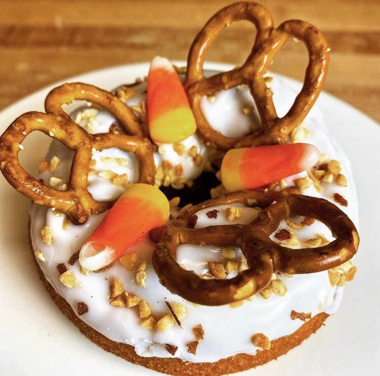 Hurts Donuts offers tasty fall themed donuts, and is open 24 hours a day seven days a week.