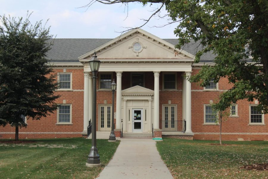 Bartlett Hall was one of the first dorms and was where the women lived. After they took down Baker Hall they moved a lot of departments into Bartlett. In 2018 they re-opened Bartlett as offices in the whole building.