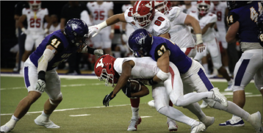 The UNI Panthers won their third straight game against Youngstown State for homecoming, 34-7.