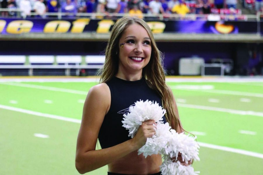 PANTHER PORTRAIT: Football halftime show